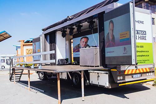 Spiderlily Pty Ltd | Hire Mobile Stage Trucks | SpiderLily